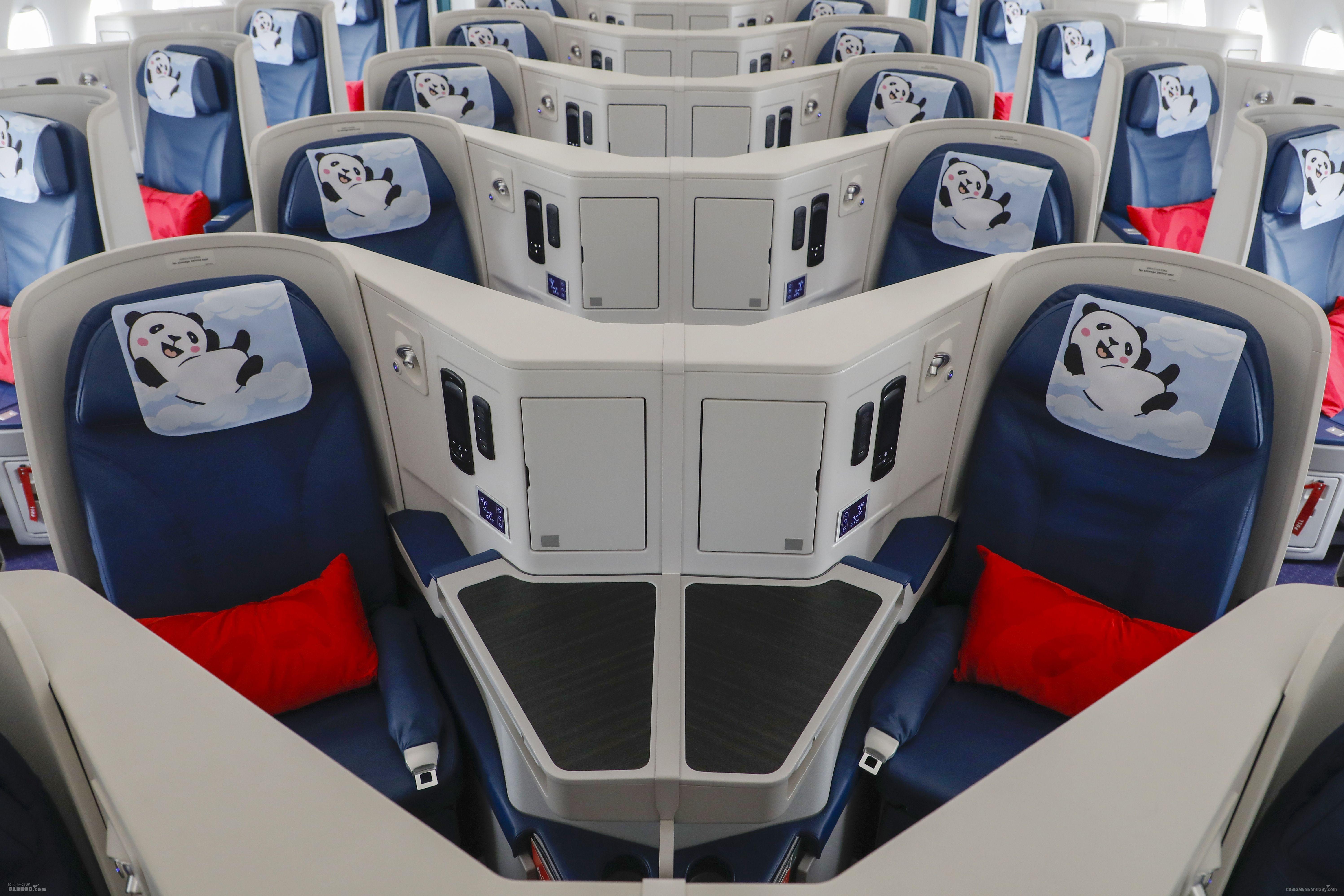 四川航空熊猫彩绘A350飞机首飞伊斯坦布尔           川航供图