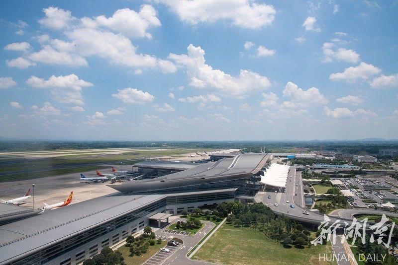 湖南長沙黃花機場:湖南從這里飛向世界