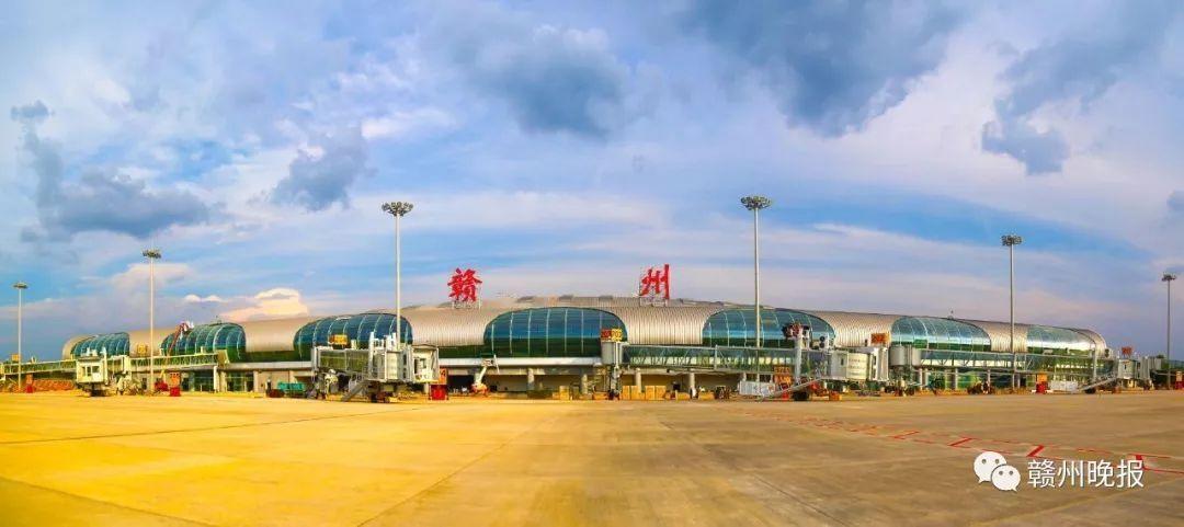 贛州黃金機場T2航站樓將于29日零時正式啟用