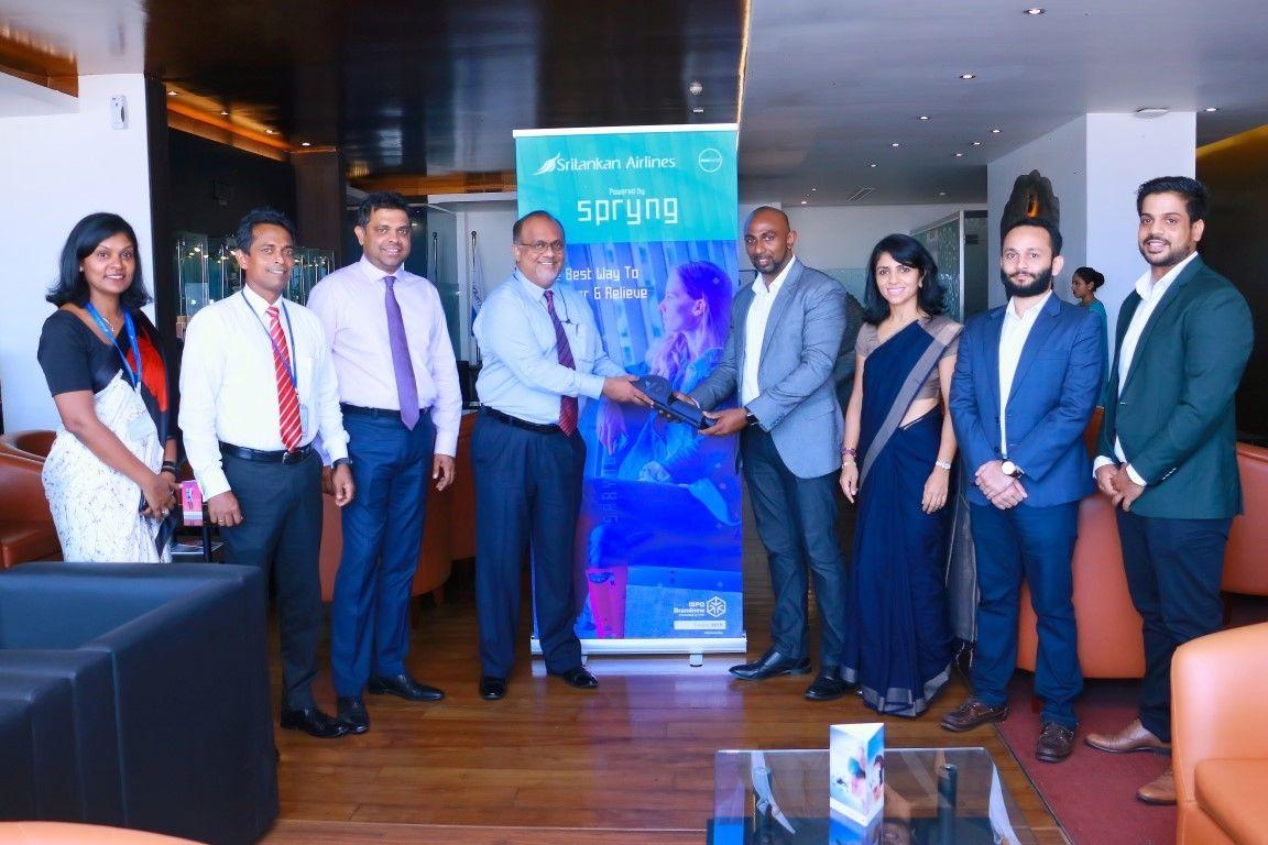 斯里蘭卡航空在班達拉奈克機場引進Spryng智能配件