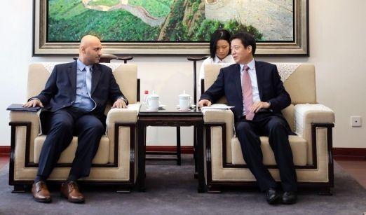 崔晓峰会见沙特阿拉伯民航代表团