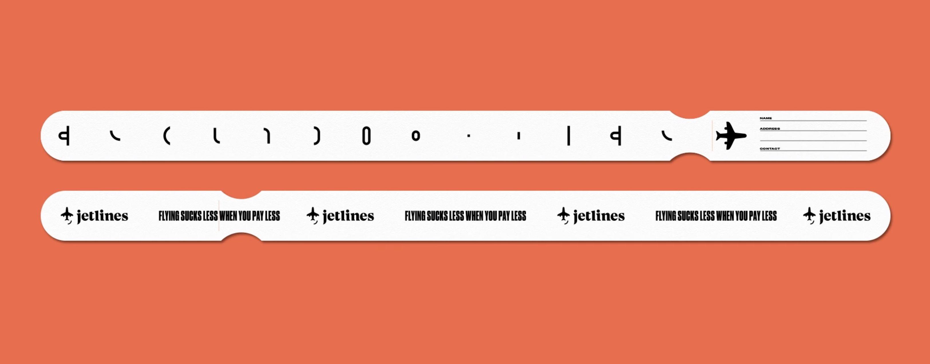 加拿大廉价航空Jetlines推出有趣新Logo