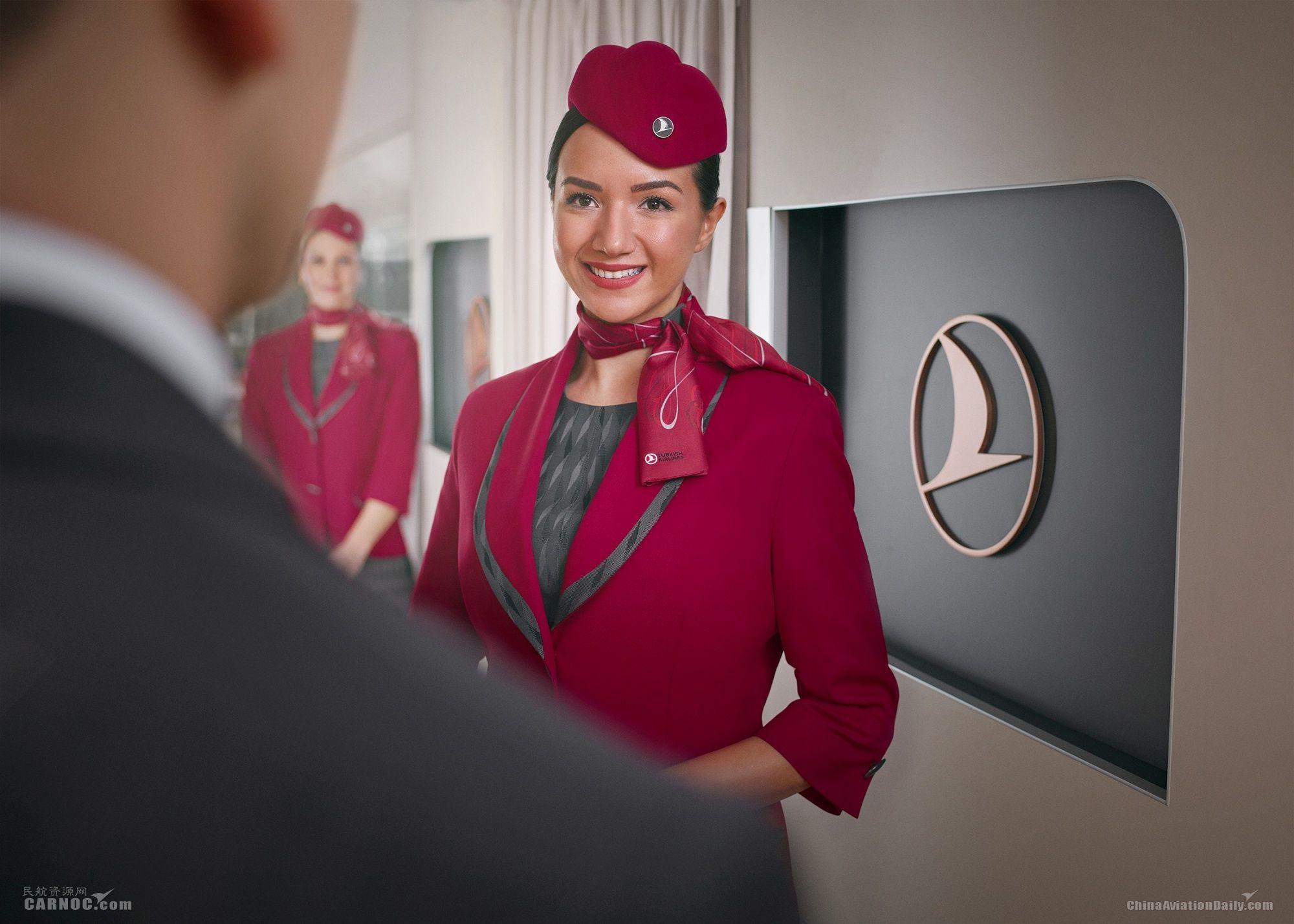 土耳其航空机组换装新制服