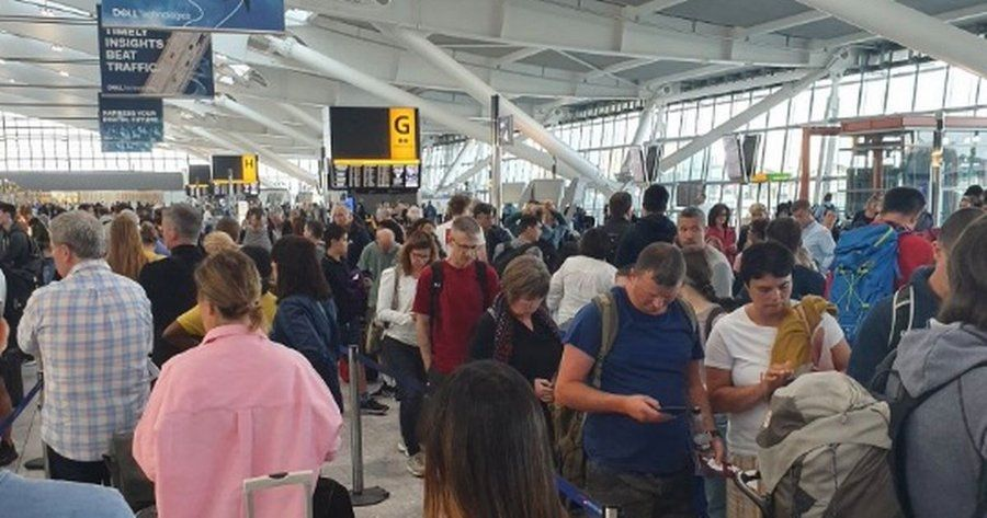 伦敦3机场IT系统故障 英航近300架次航班受影响