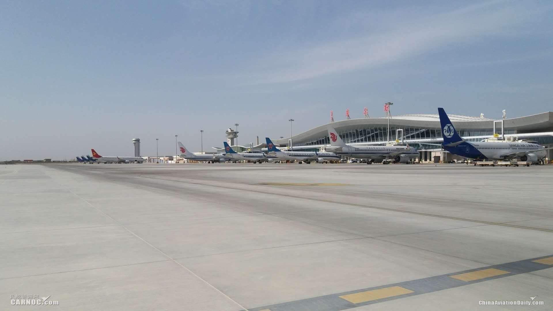 库尔勒机场春运期间加开6条航线提升运力