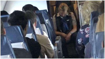 高空执勤时喝得酩酊大醉 美空姐被开除并面临6月监禁