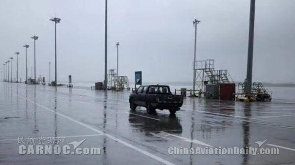 """海航技术杭州维修中心迎战""""利奇马""""力保人机安全"""