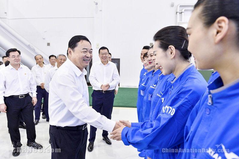 国资委党委书记、主任郝鹏谈厦航的党建与国企改革