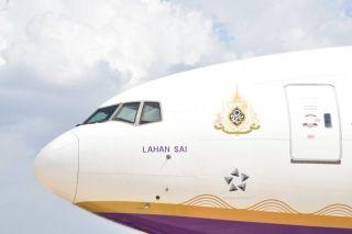 泰国航空新龙舟彩绘飞机 图片来源:泰国航空