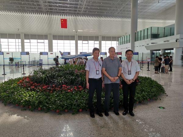 东海航空迁入南通机场新航站楼