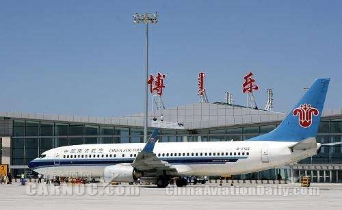 博樂機場1至7月旅客吞吐量16.88萬人次,增幅72.4%