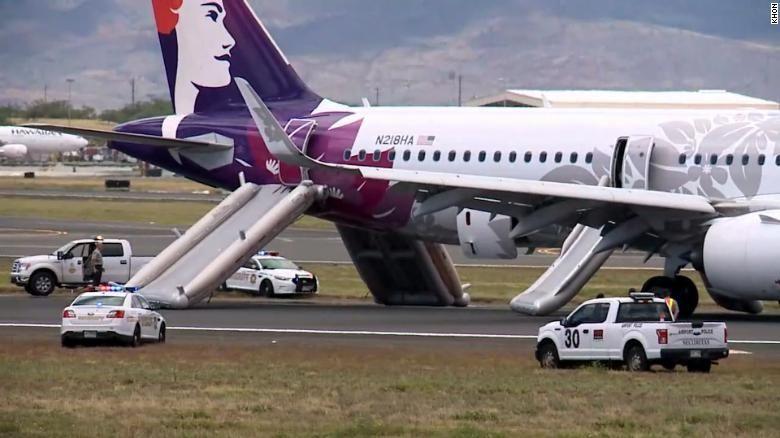 烟雾弥漫致夏威夷航空飞机紧急降落 7名乘客入院