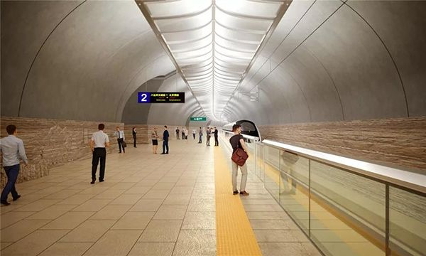 世界最深、规模最大:京张高铁这个车站亮相