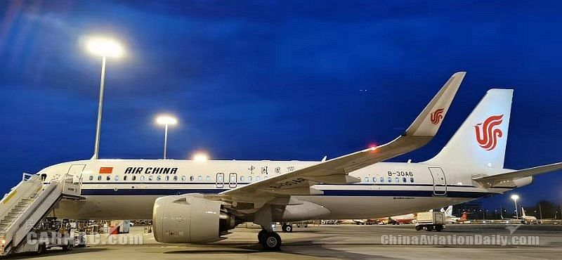 国航西南机组完成空客A320NEO新机引进调机任务
