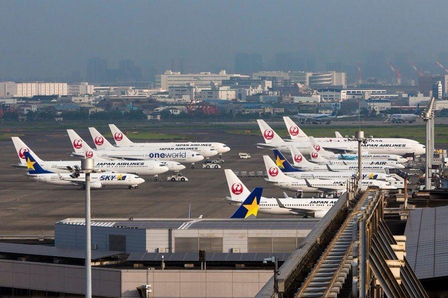 2020年日本羽田機場國際航線擴容 美國獨得其中半數