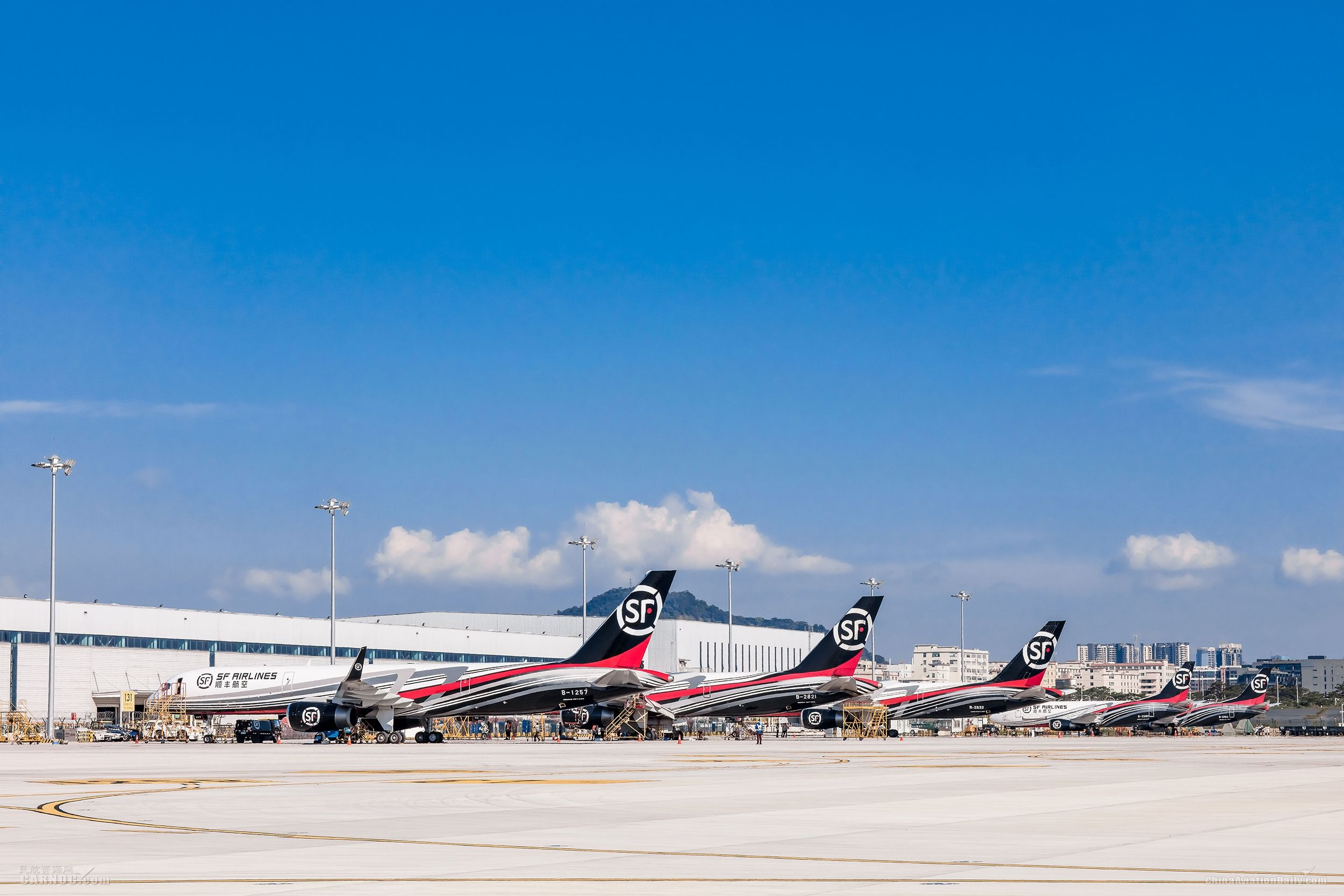 顺丰航空第57架全货机入列 757机型突破30架