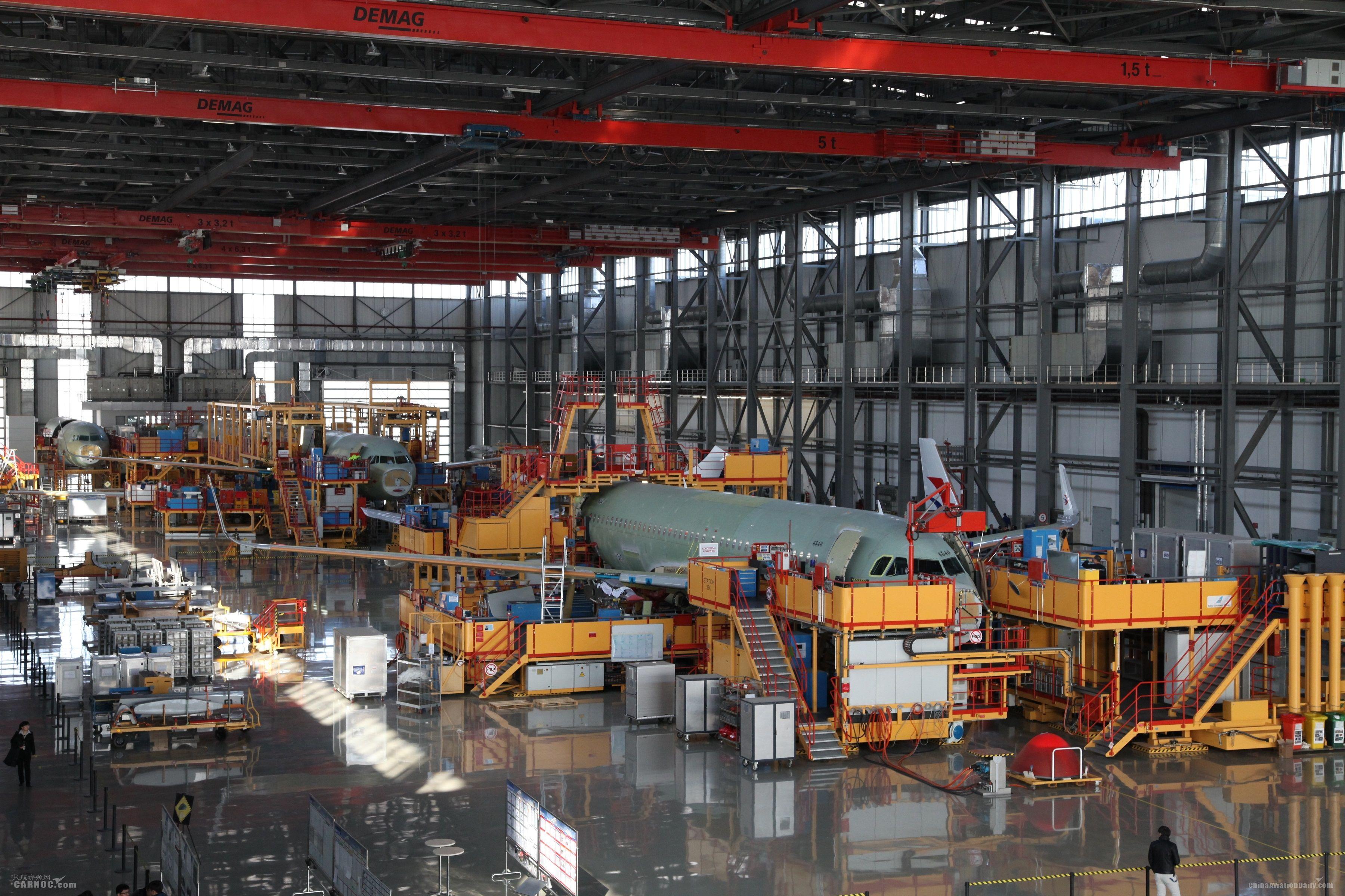 空中客车与中国航空工业合作再上新台阶