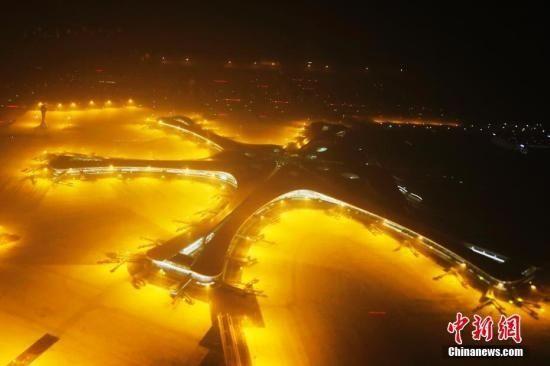北京大兴机场开展第六次演练加空铁联运流程测试