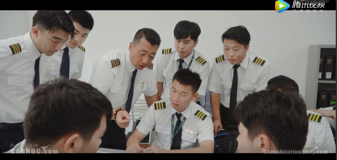 """春秋航空飞行教员:我们的""""课堂"""",在蓝天!"""
