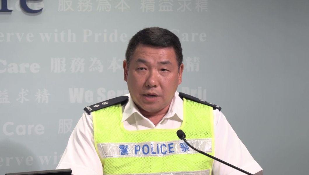 新界南总区交通部署理高级警司李锦标