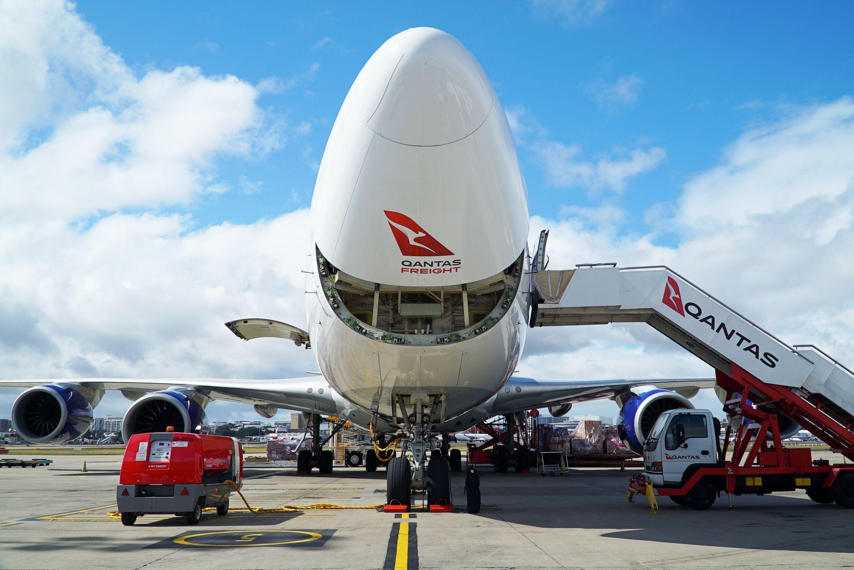 澳洲货运航空接收波音747-8F货机 将投入中国市场运营
