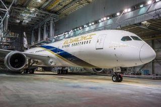 以色列航空第十二架波音787 图片来源:以色列航空