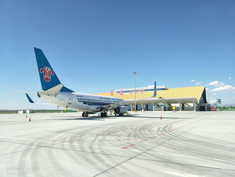 富蕴机场8月保障各类飞行6397架次