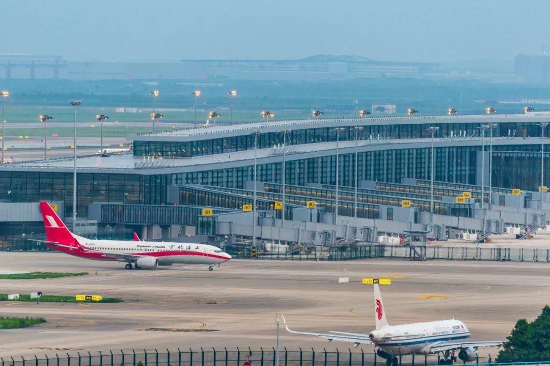 上海浦东机场9月16日启用全球最大单体新卫星厅