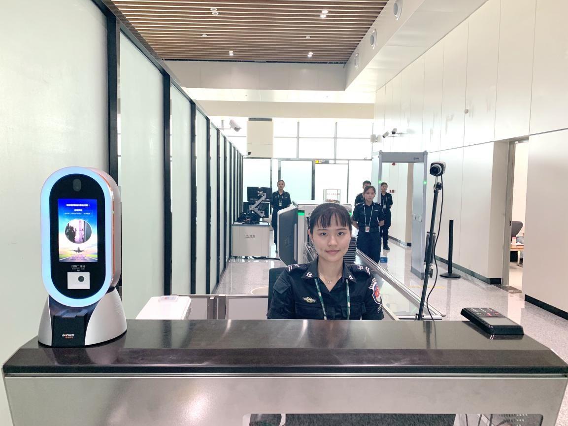 """惠州机场上线""""电子临时乘机证明""""系统"""