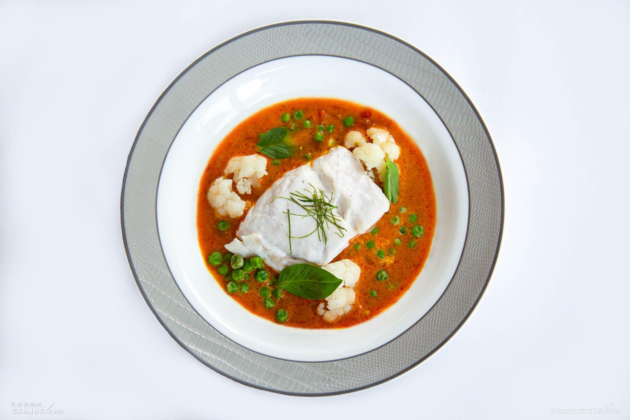 新加坡航空携手COMO香巴拉推出全新机上健康美食