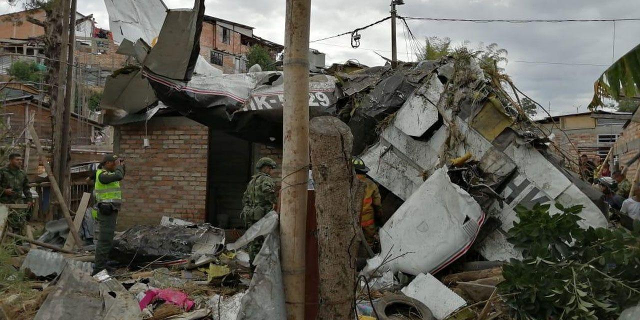 哥伦比亚一架小型客机坠毁 致7人死亡