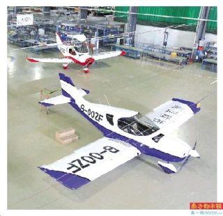 八旬老人在珠海造飛機 將用自造飛機環游中國