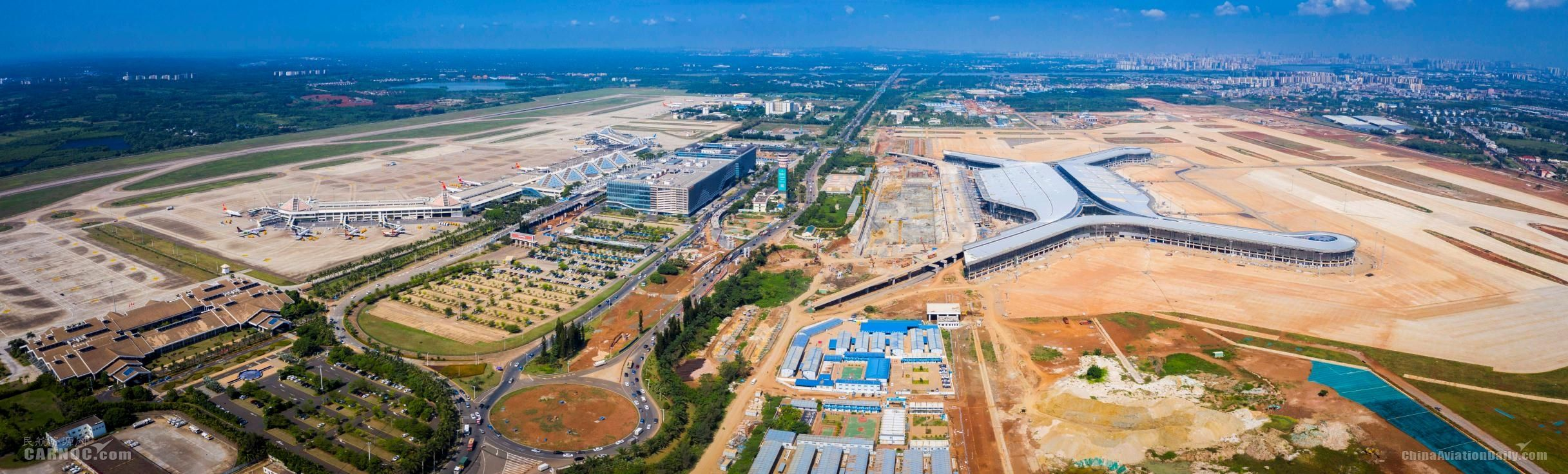 美兰机场二期扩建项目飞行区工程正式启动竣工验收