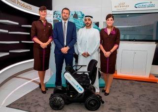 阿提哈德航空攜手阿布扎比機場率先試用自動駕駛輪椅
