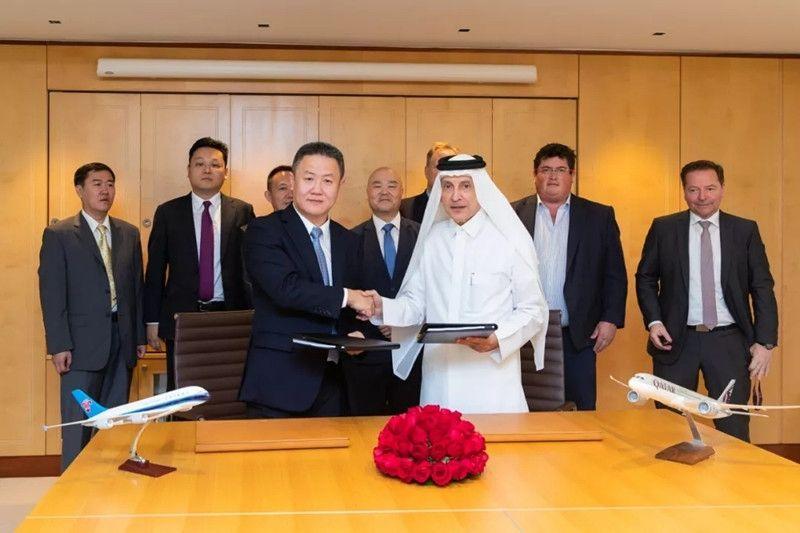 南航与卡塔尔航空建立代码共享合作伙伴关系