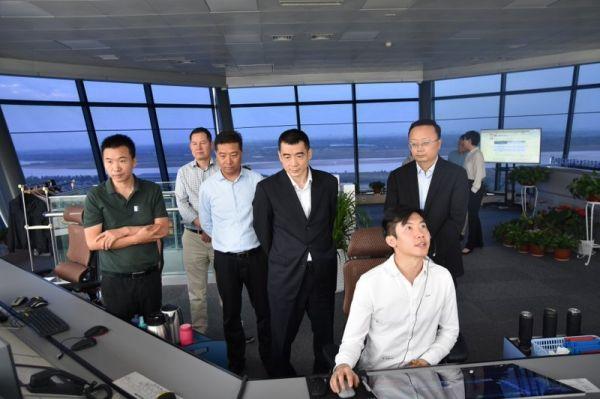 西北空管局党委书记聂建雄到宁夏空管分局调研指导