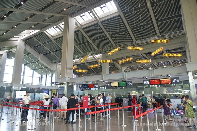 海口美兰机场国际及地区旅客吞吐量再次突破100万人次