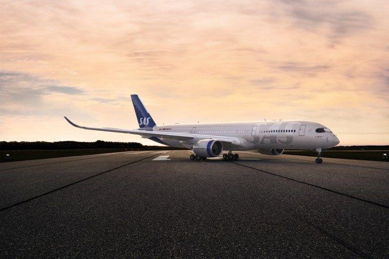 民航早报:21年来北欧航空首次更换飞机涂装