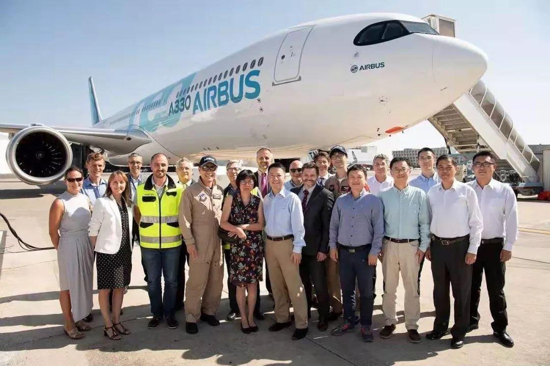 民航上海审定中心团队赴法国空客公司开展A330Neo飞机认可审查和试飞工作