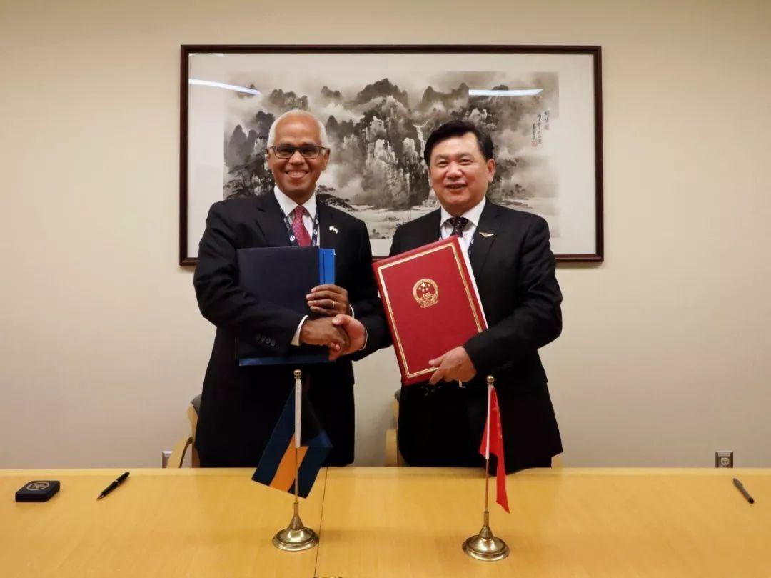 中国与巴哈马签署航空运输协定