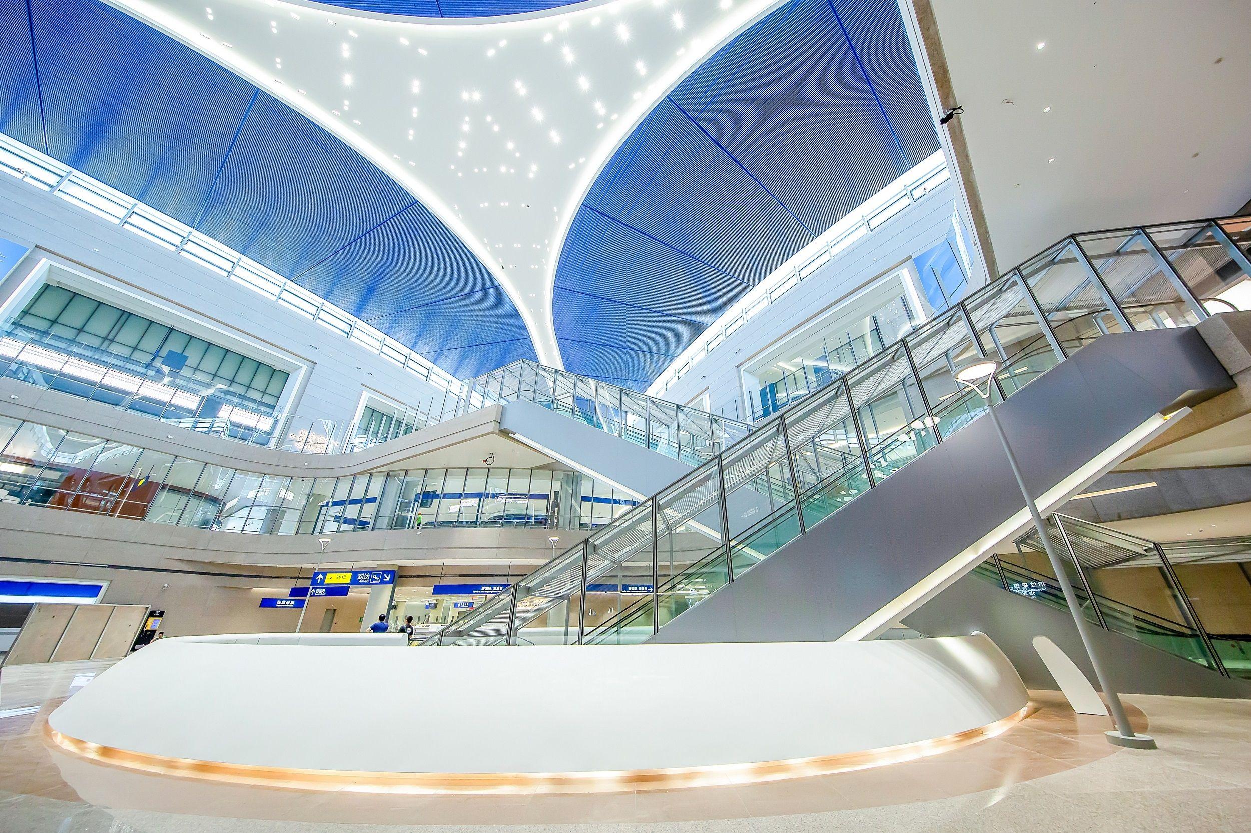 达美航空入驻全新上海浦东国际机场卫星厅