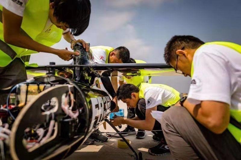 北航无人机创续航时间世界纪录 团队成员平均年龄不到20岁