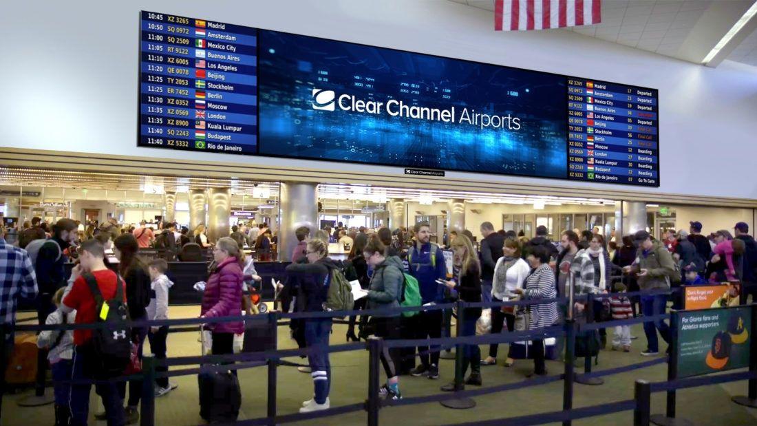 美首个全数字机场广告网络在圣何塞机场首次亮相