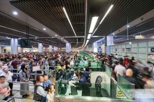 国庆假期超29万人次出入澳门 内地游客占5成