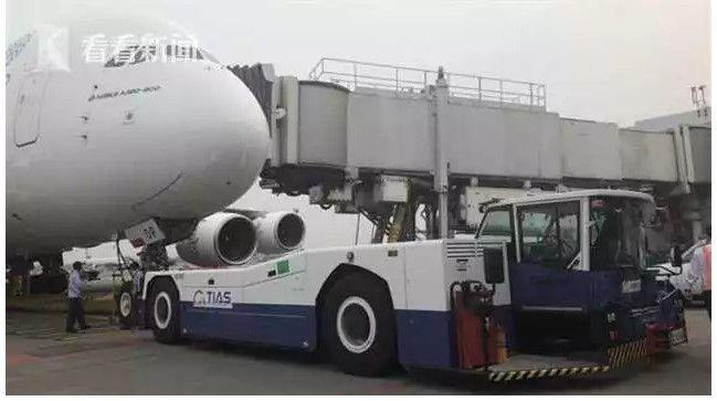 桃园机场拖车撞坏阿联酋航A380 系今年第6起事故