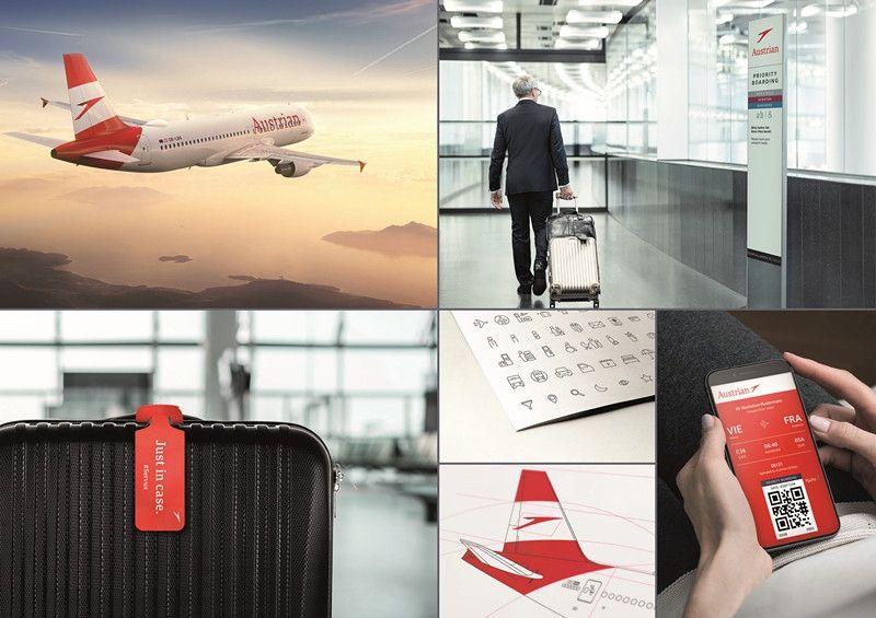 全新奥地利航空品牌形象荣获红点奖