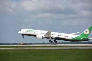 视频:空对空欣赏长荣航空787-10飞机