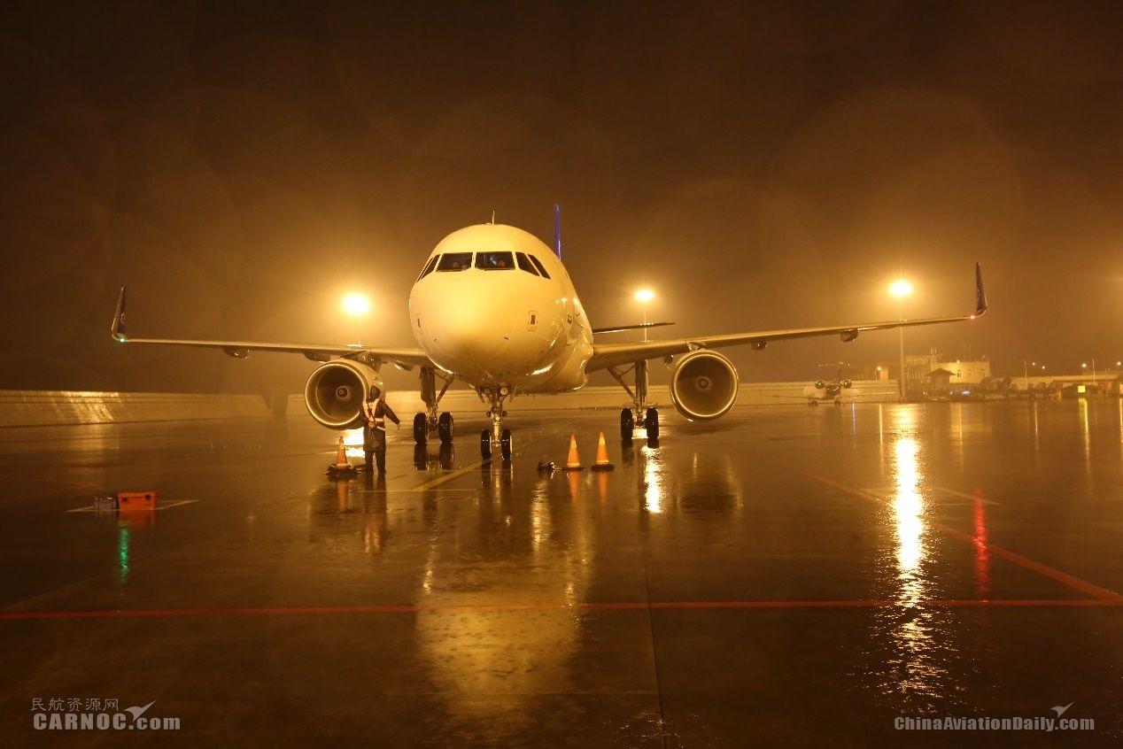 第11架空客A320入列 华夏航空机队规模达49架