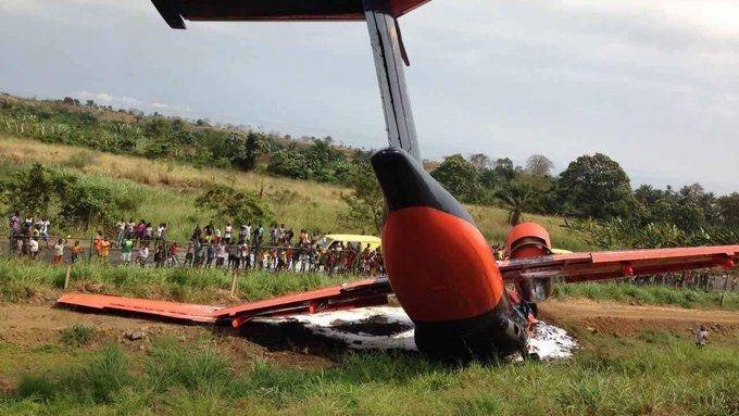 剛果一架官方安-72墜毀 機上8人全部喪生