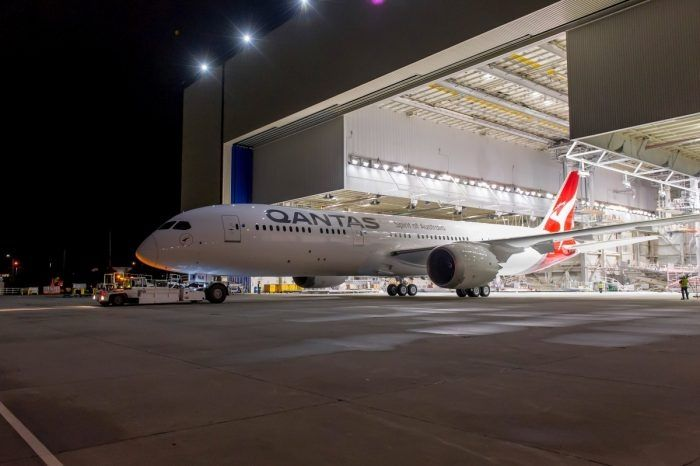澳航近20小时的纽约-悉尼直飞航班即将试飞